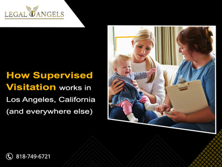 How supervised visitation works in Los Angeles, California (and everywhere else)