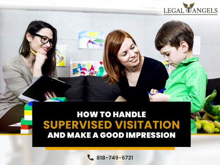 How to Handle Supervised Visitation and Make a Good Impression