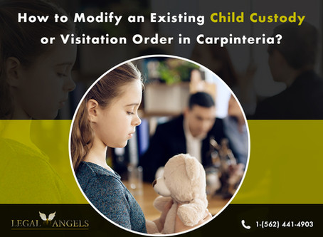How to Modify an Existing Child Custody or Visitation Order in Carpinteria, California