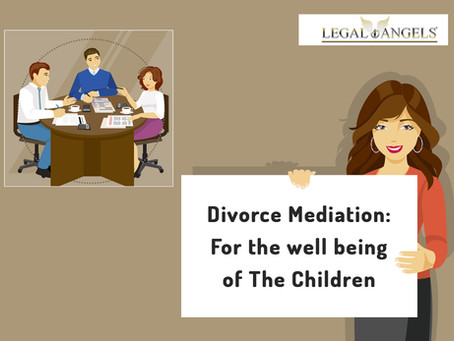Divorce Mediation: For the well being of The Children
