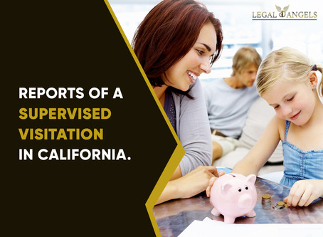 Reports of a supervised visitation in California