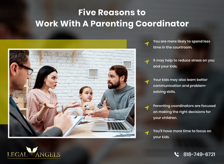 Five Reasons to Work With A Parenting Coordinator