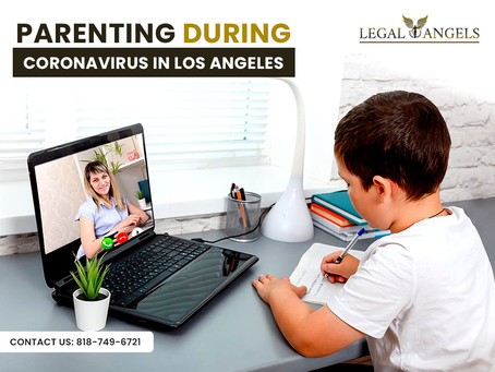 Parenting During Coronavirus in Los Angeles