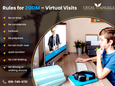 Rules for ZOOM – Virtual Visits