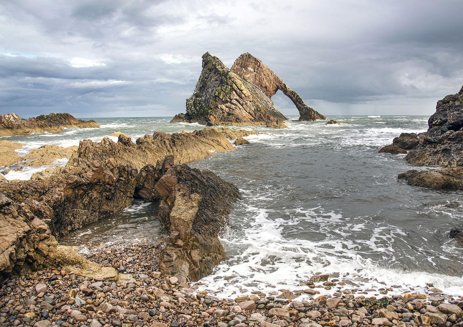 Bow fiddle Rock, Inverness