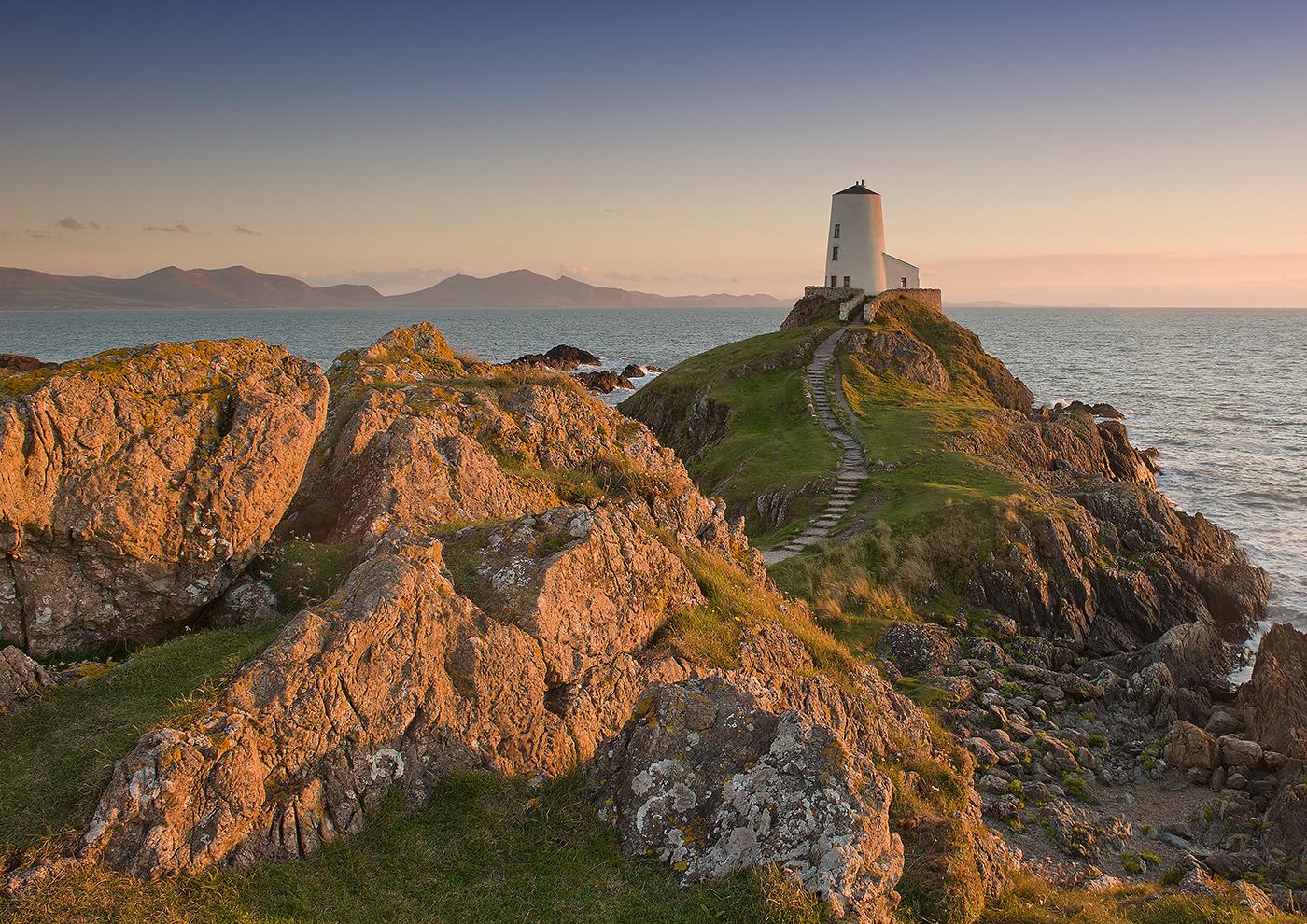 Llanddwyn Lighthouse by Ralph Witty