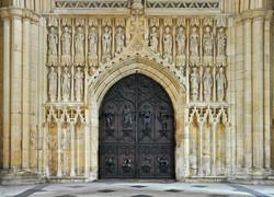 Beverley Minster, west door