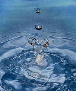 Heart in Water Splash