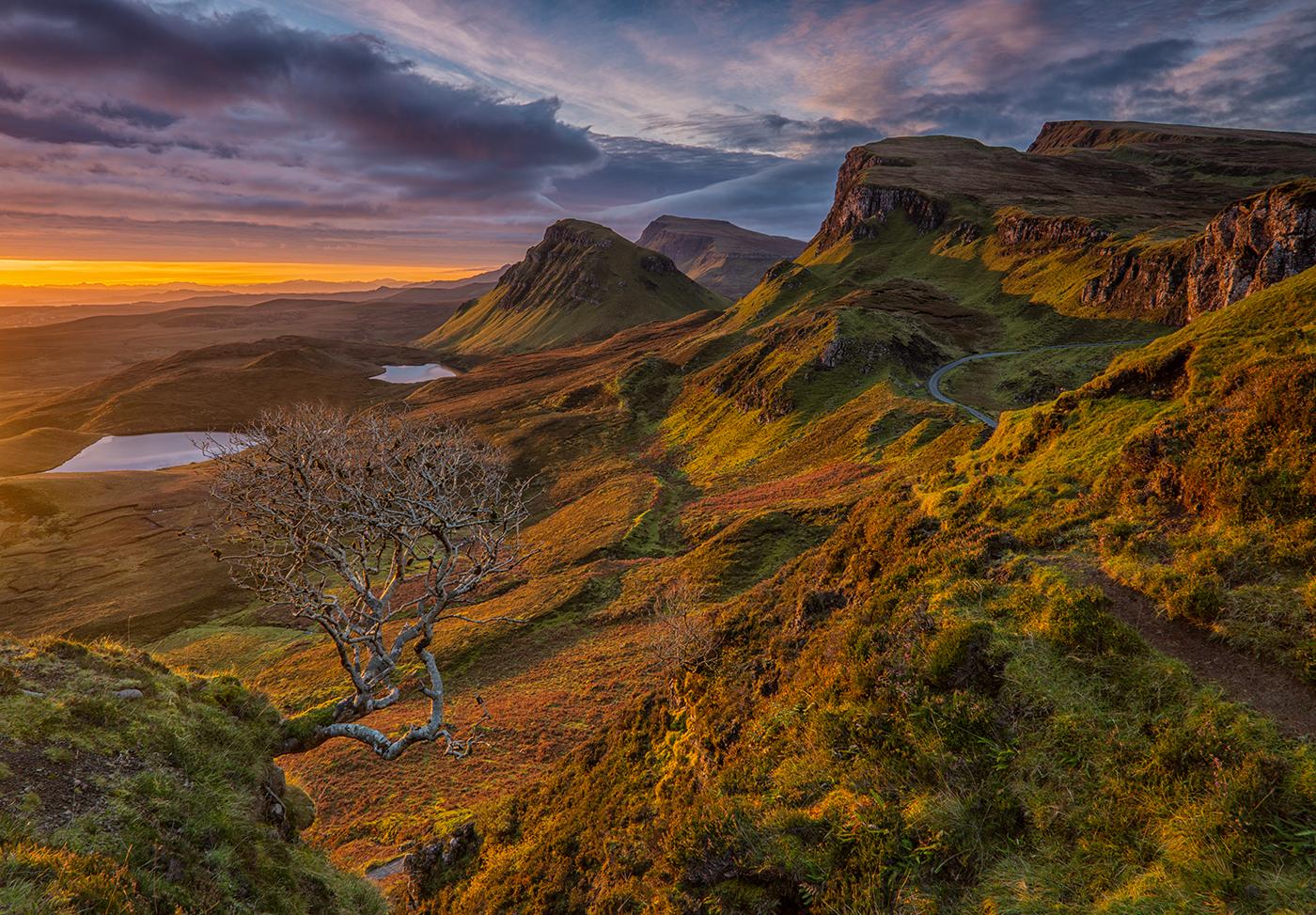 1st Quiraing Sunrise - Stuart Marsden