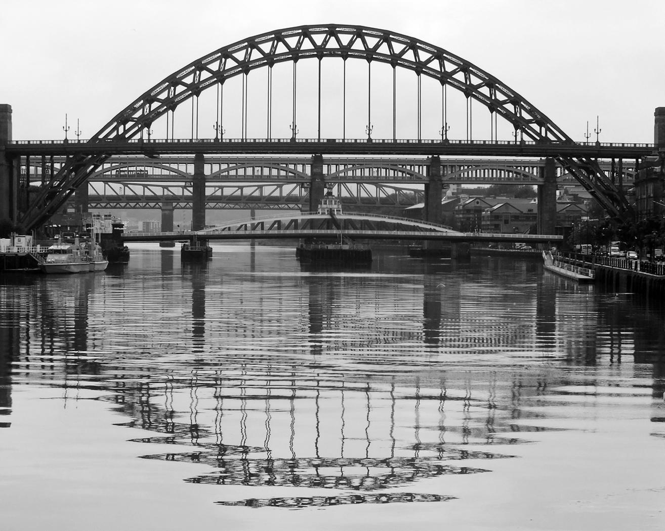 Tyne Bridges by Val Chld