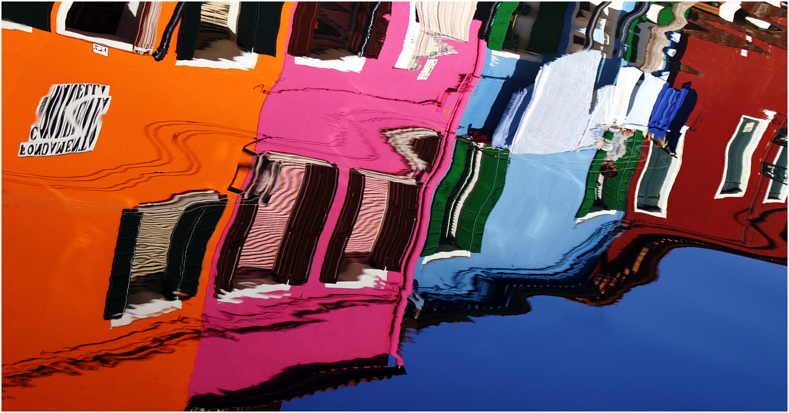 Burano colours