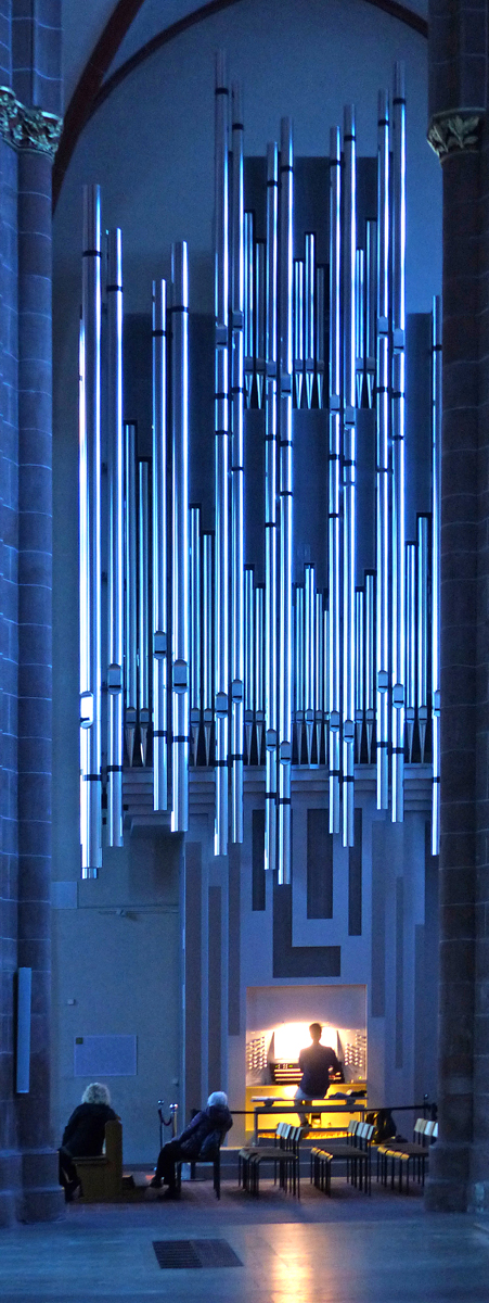 Illuminated Organ, Mainz