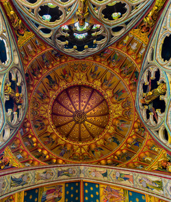 St Mary's church ceiling, Studley Royal