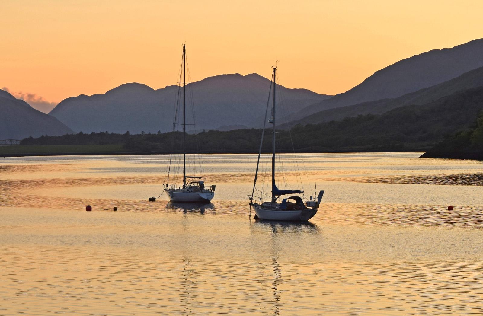 Sunset at Ballachulish