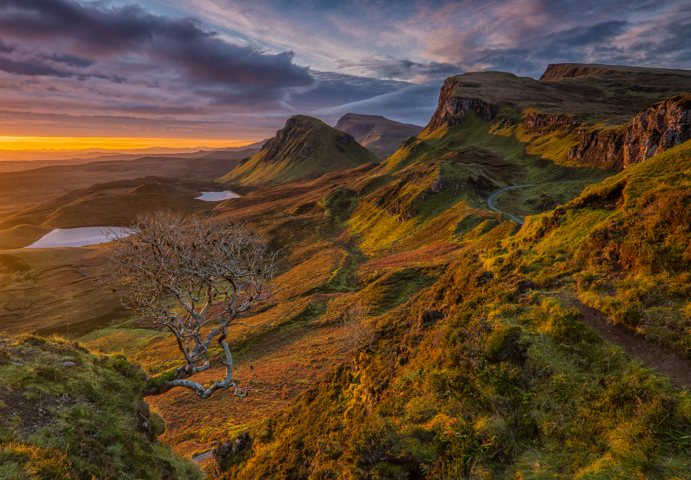 BEST IN COMPETITION Quiraing Sunrise - Stuart Marsden