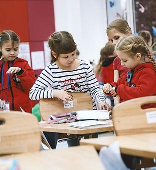 Girls in Classrom