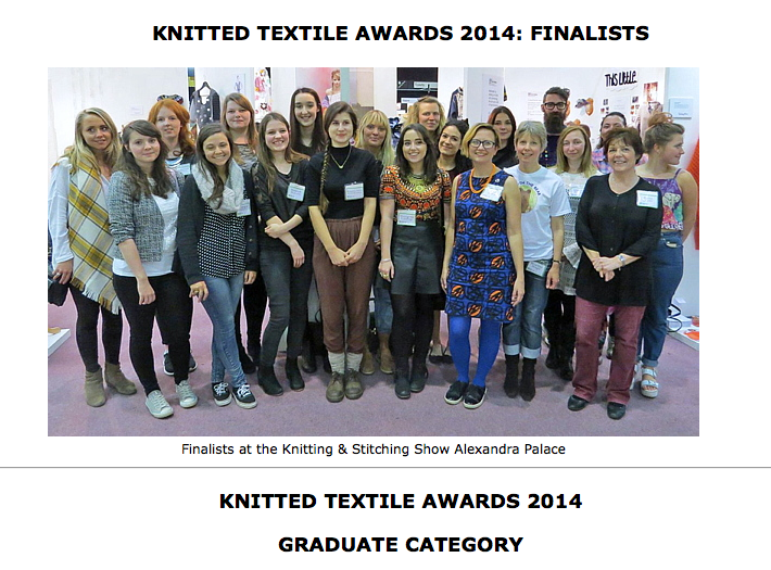 UKHKA Knitted Textile Awards