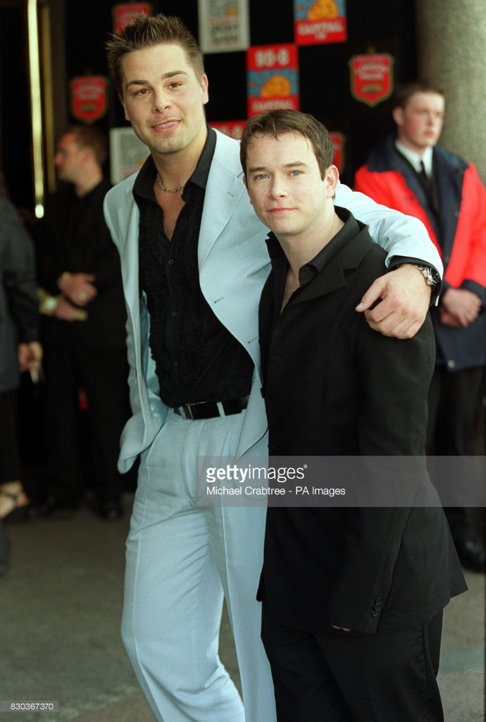 Eloy de Jong & Stephen Gately (Photo: PA Images)