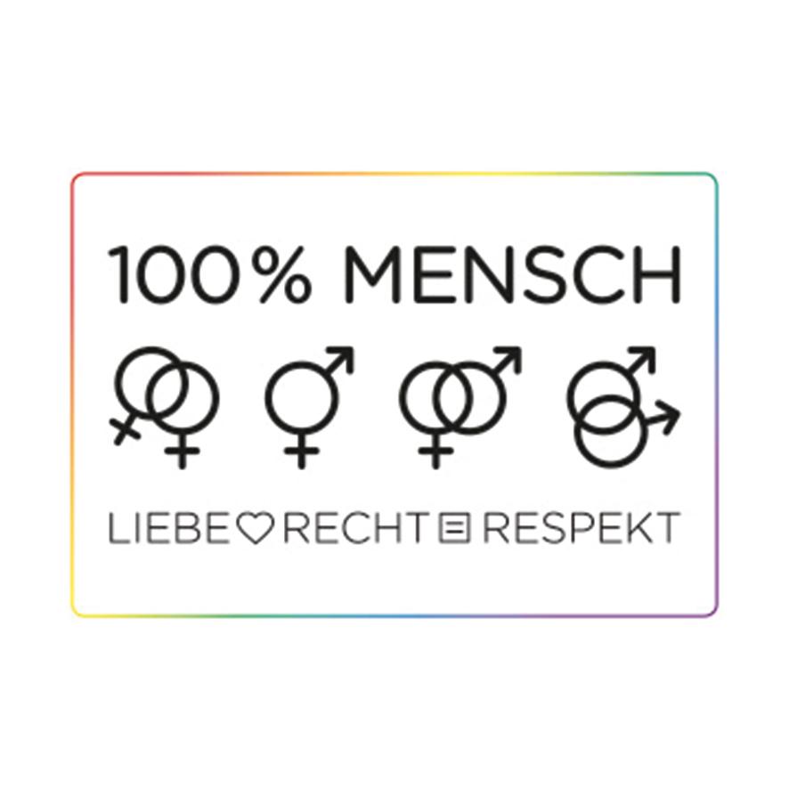 © 100% Mensch