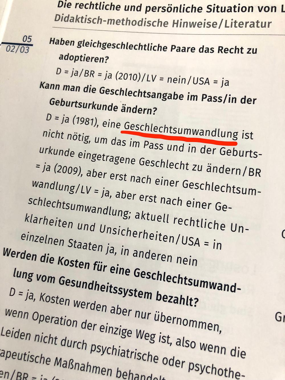 """Aus """"Informationen für Unterrichtende"""" (bpb)"""