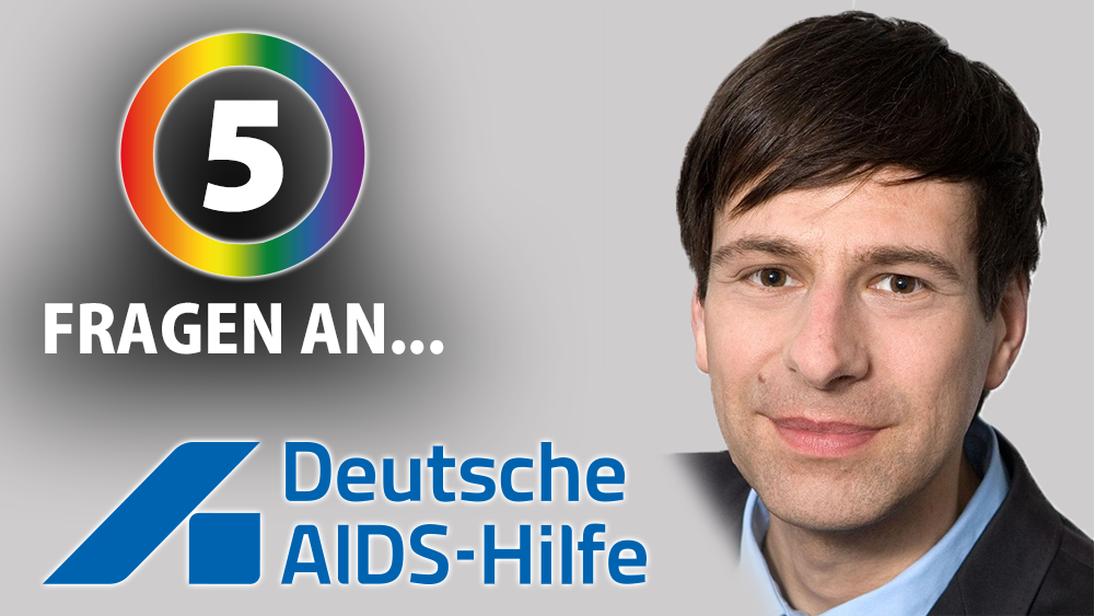Enough is Enough Interview Deutsche AIDS Hilfe Holger Wicht