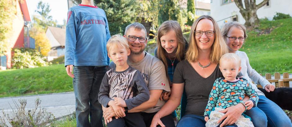 Ein Nachmittag bei Familie Rietmann