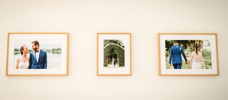 Gib deinen Fotos den passenden Rahmen