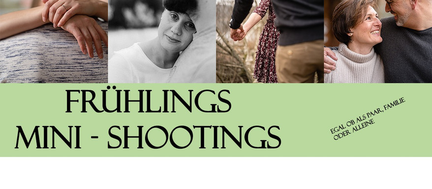 Frühlings Mini - Shootings