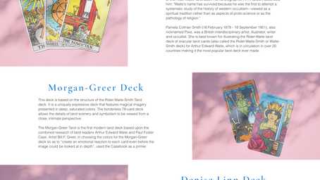 Bright Tarot Website