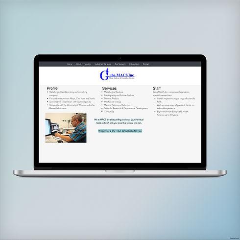 Old Guba MACS Inc. website