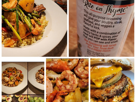 From the Rite on Thyme  Food Diaries – They really like us!