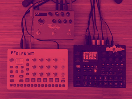 Ambient House on Digitakt, Model:Samples and Strymon Big Sky