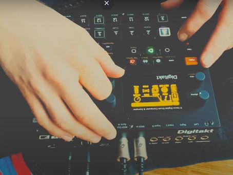 Groovy Dub Techno Jam with Elektron Digitakt