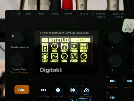 How to use LFO for Sounddesign on Digitakt