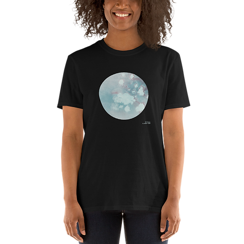 Luna Plena - Short-Sleeve Unisex T-Shirt Black, double printed