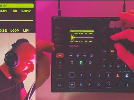 How I create texture sounds | Digitakt sound design