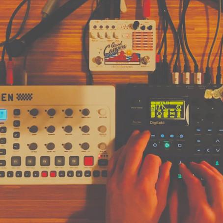 First 2021 Dub House Jam with Elektron Digitakt and Model:Samples