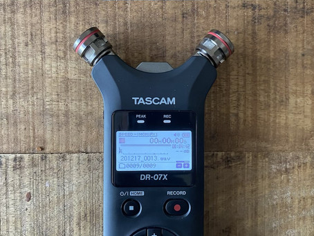 "New Gear: ""Tascam DR-07X"" field recorder with lofi touch"
