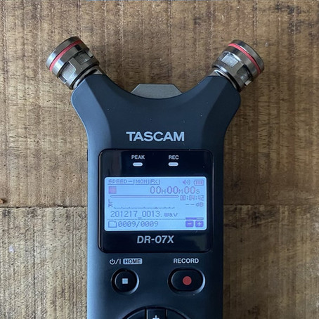 """New Gear: """"Tascam DR-07X"""" field recorder with lofi touch"""