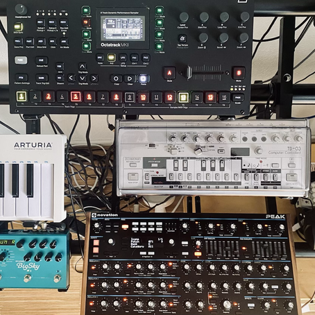 Spring cleaning in my studio - why I bought the Elektron Octatrack