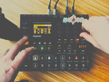 Dub House Synthjam on Elektron Digitakt only