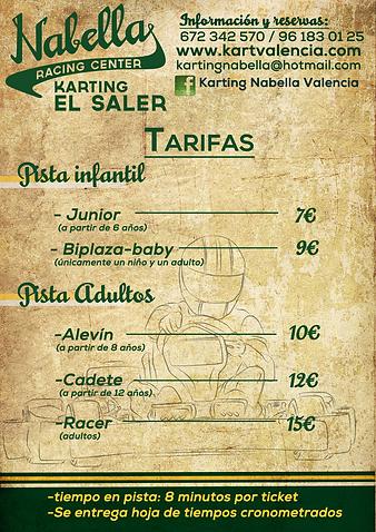 Karts para todas las edades en valencia