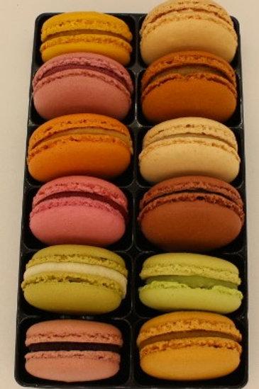 Macarons par 12