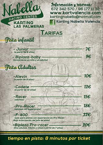 karts para todas las edades y nivel de experiencia en Valencia