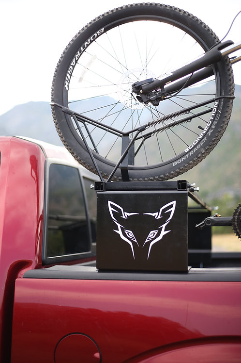Lift kit for Wolf bike rack
