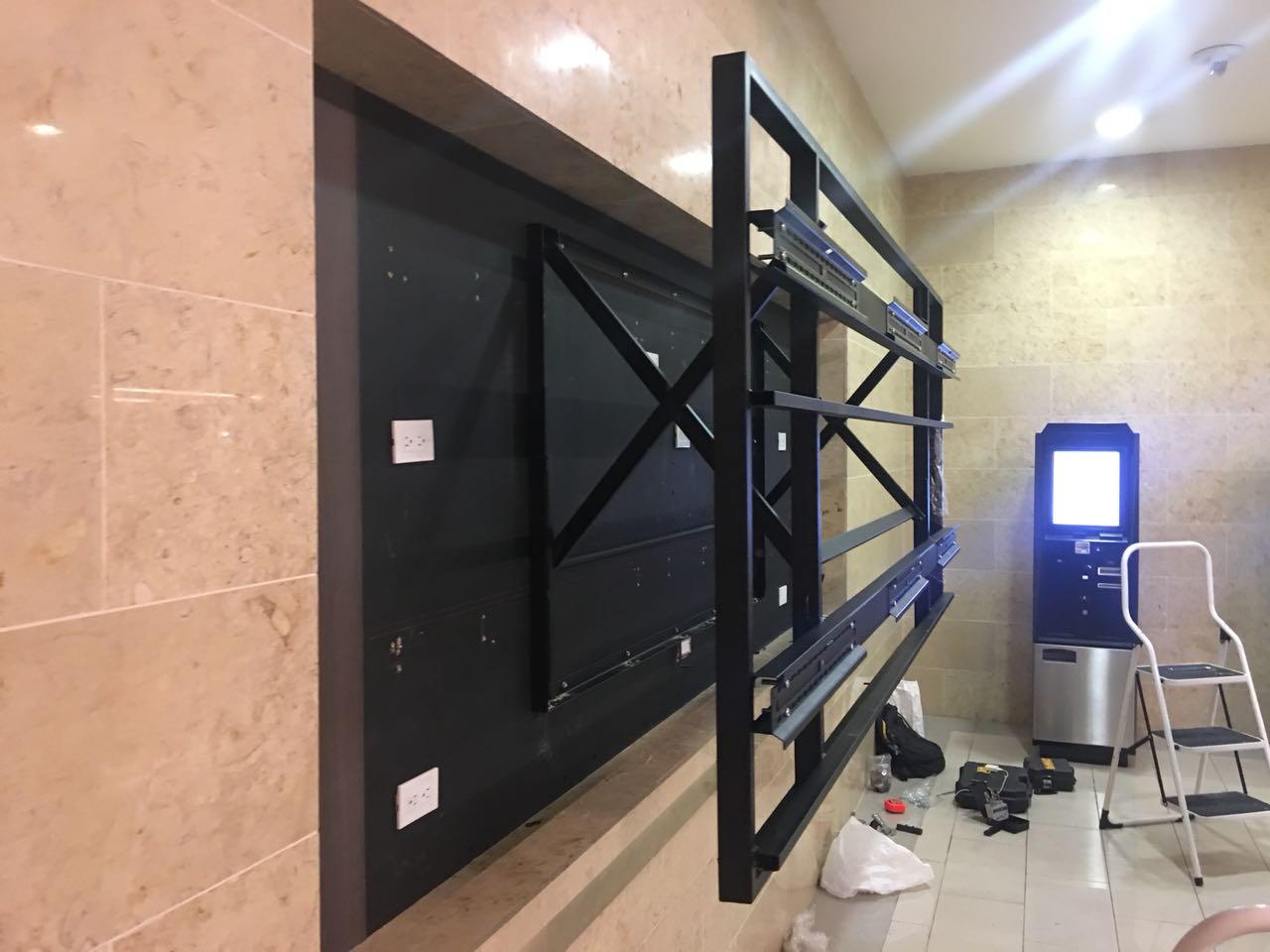 Soporte para video wall extensible