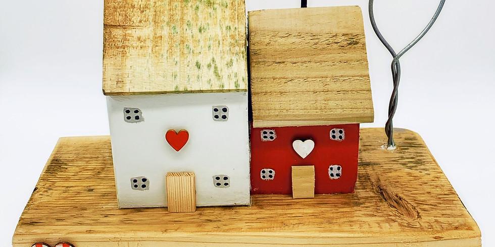 Creative Wooden Cottage