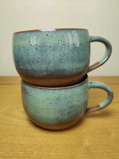 Short Flat Mugs