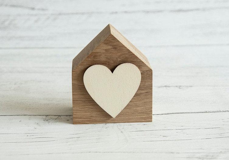 Wood Heart house (OAK)