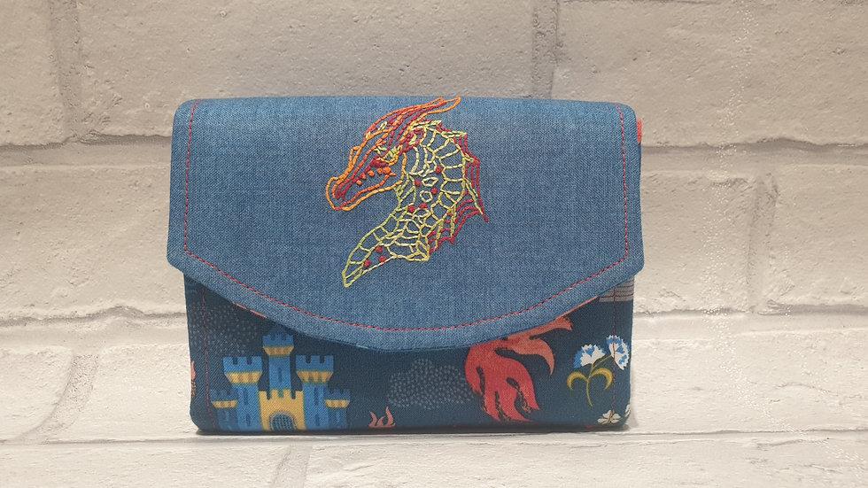 draggon mini clutch wallet